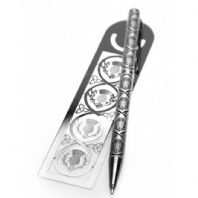 Pen & Bookmark Scottish Thistle Design (2)